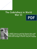 Code Talkers in World War II