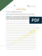 Intermediate AnsweringAQuestionYourDay.pdf