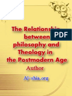 The Relationship Between Philosophy_and Theology_in the Postmodern Age