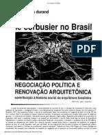 Le Corbusier No Brasil