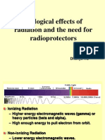 Biological Effects of Radiation and the Use of Radiomodulators