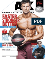 JUNE 2014 ISSUE MAX SPORTS & FITNESS MAGAZINE