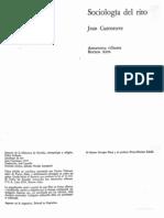 Cazeneuve Jean - Sociologia Del Rito