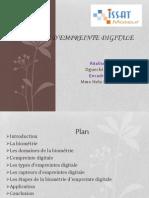 Biométrie d'Empreinte Digitale-PowerPoint