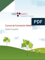 Cursos de Formación WebRatio-EC