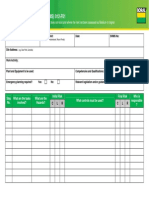 Safe Work Method Statement (SWMS) 012-F01