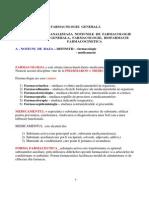 Farmacologie Generala Prof. Maria Cotae Competenta 1