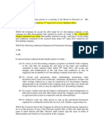LC Board Resolution Format