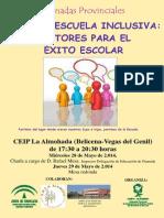 Cartel Escuela Inclusiva Belicena