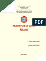 Inf - Algoritmo Boyer-Moore