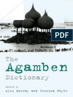 Murray, Alex - Whyte, Jessica - The Agamben Dictionary
