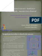 Poriect MEF- Fundatie Izolata Rigida
