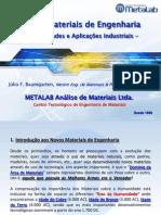 Novos Materiais de Engenharia__Propriedades e Aplicações Industriais
