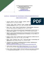 Ratingul - Instrument de Consolidare a Supravegherii Prudentiale