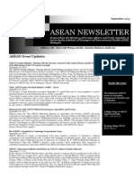 ASEAN Newsletter September 2013