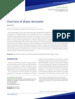 Overview Dermatitis Atopi
