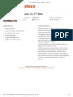 Tudo Gostoso - Massa de Pizza - Imprimir