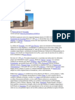 Período Prehispánico Bolivia