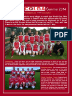 Colga FC Newsletter Summer 2014 Final