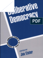 Elster John Deliberative Democracy (Cambridge Studies in the Theory of Democracy)