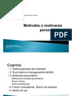 30423674 Motivatia Si Motivarea Personalului
