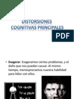 Distorsiones Cognitivas Principales