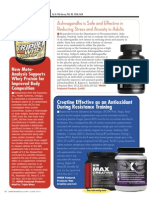 [Science News] CORTIX, WHEY PROTEIN, AND CX3, Max CREATINE