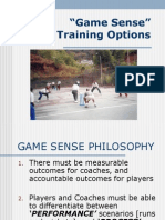 Game Sense Training With Pics