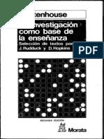 2)L Stenhouse La Investigacion Como Base de La Enseñanza TERCERA PARTE (1)
