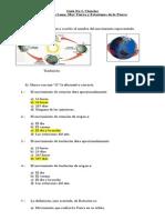 Guía No 1, Ciencias Fases de La Luna, Mov Tierra, Estaciones Año
