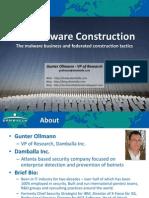 HackerHaltedWebinar DIYMalware GunterOllmann v3