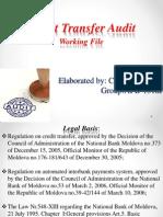 Auditul Transferurilor de Credit (Ppt)