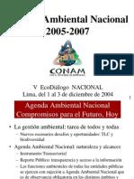 Agenda Ambiental Nacional 2005-2007 Final 3-12-04