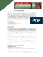 Science Fiction Literature & Film