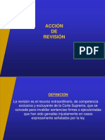 La Acción de Revison