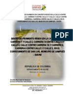Diseño de Pavimento Del Corregimiento de San Luis