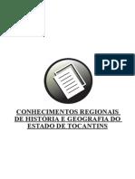 2 - Conhecimentos Regionais de Hist Ria e Geografia Do Estado de Tocantins
