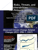 Climate Risks in the Philippines
