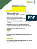 Examen Parcial I- COMP 3