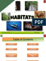 Ecology - Habitats