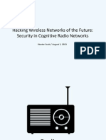 DEFCON 21 Scott Security in Cognitive Radio Networks Updated