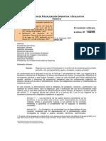 Circular Regulaciones Sobre La Fiscalización y El Control de Los Beneficios Patrimoniales,