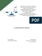 Trabajo Escrito El Genoma Humano en Venezuela
