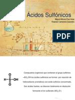 Ácidos Sulfónicos