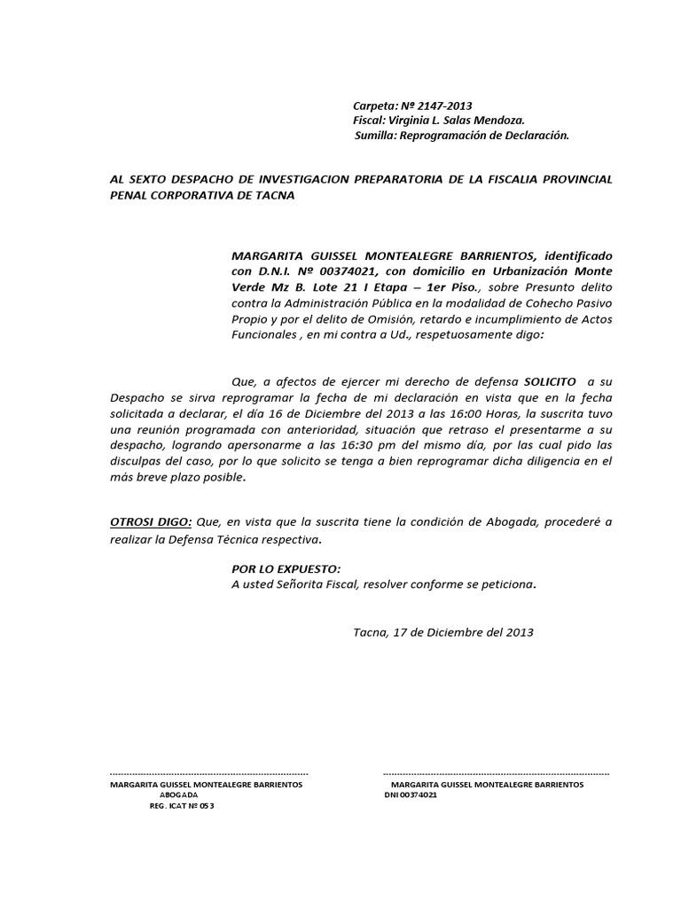 Magnífico Plantilla De Declaración Escrita Festooning - Ejemplo De ...