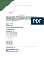 SQL AVANZADO