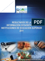 1. MINED Resultados de La Información Estadística de IES 2011