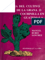 Rubio Manuel - Historia Del Cultivo de La Grana