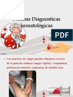 Pruebas Diagnosticas hematológicas