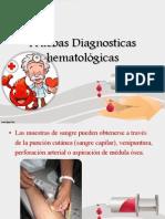 Pruebas Diagnosticas hematológicas